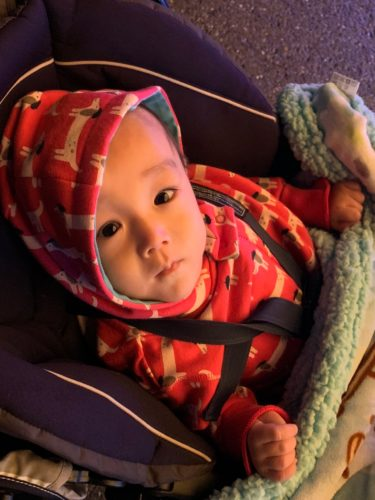 ソトスちゃん始め頭が大きい子の帽子問題…赤ちゃんの熱中症&寒さ対策は?